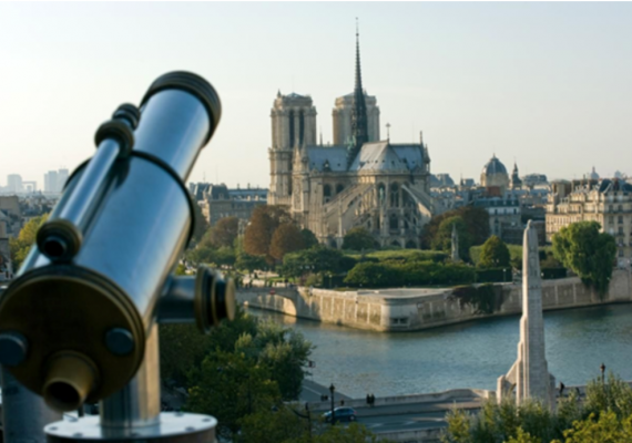 Paris vue d'en haut